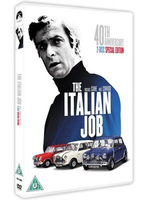 The Italian Job - 40th Anniversary Edition [DVD] [1969] -  CD 8GVG The Fast Free