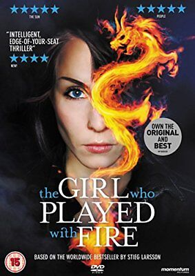 The Girl Who Played With Fire [DVD] [2010] -  CD C6VG The Fast Free Shipping