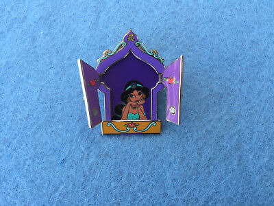 Disney Pin 16435 Princess Hinged Windows Jasmine