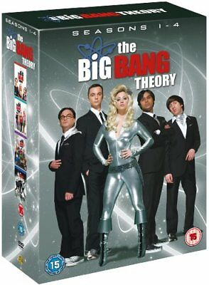 Big Bang Theory - Season 1-4 Complete [DVD] [2011] -  CD 1SVG The Fast Free