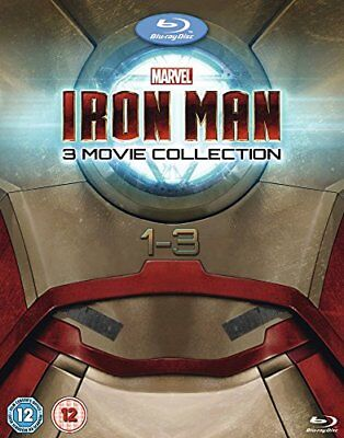 Iron Man 1-3 Complete Collection [Blu-ray] -  CD 7EVG The Fast Free Shipping