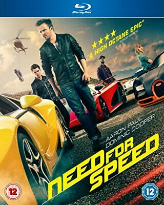 Need for Speed [Blu-ray] [2014] -  CD IQVG The Fast Free Shipping