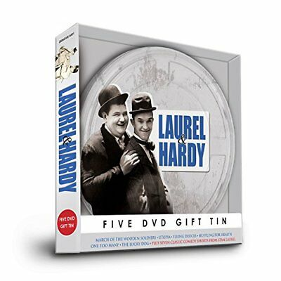 Laurel And Hardy Film Reel Collection [5 DVD GIFT TIN] -  CD 3GVG The Fast Free