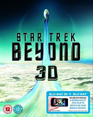 Star Trek Beyond (Blu-ray 3D + Blu-ray + Digital Download) [2016] ... -  CD XCVG