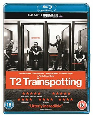 T2 Trainspotting [Blu-ray] [2017] [Region Free] -  CD XUVG The Fast Free
