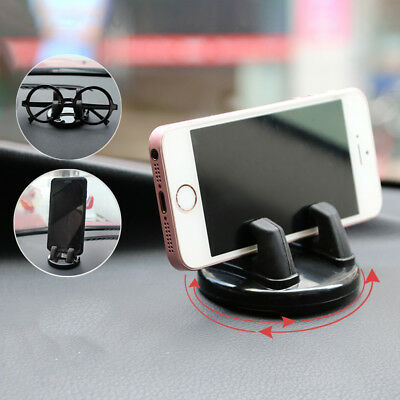 Car Holder Auto Phone Stand Mount Auto Glasses Rotatable For Universal Home Hook