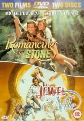 Romancing The Stone/ The Jewel of the Nile Double Pack [DVD] [1986] -  CD 3MVG