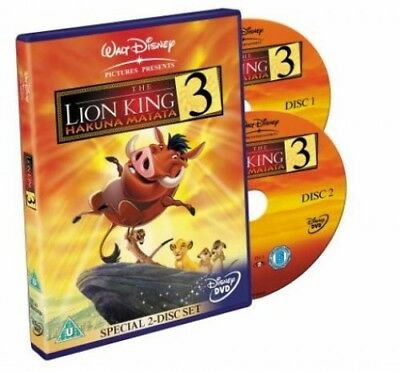 The Lion King 3: Hakuna Matata (Special 2-Disc Set) [DVD] [2004] -  CD 1GVG The