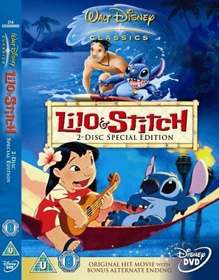Lilo and Stitch (Special Edition) [DVD] (2002) -  CD LCVG The Fast Free Shipping
