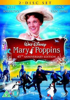 Mary Poppins [DVD] [1964] -  CD 3KLN The Fast Free Shipping