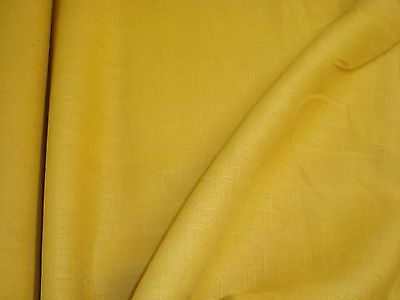 "ONE YARD KRAVET LINEN FABRIC BUTTERSCOTCH oac803 DRAPERY 58"" x 36"" BTY (3 left)"