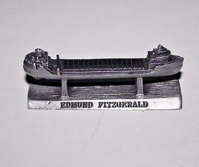 Edmund Fitzgerald Pewter Collectible