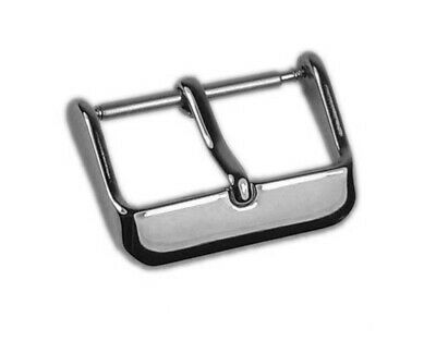 Minott Chrono Replacement Clasp Pin Buckle Stainless Steel Silver For