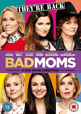 A Bad Moms Christmas [DVD] -  CD VGVG The Fast Free Shipping