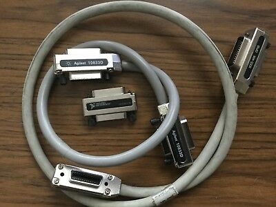 Lot's of  IEEE488 GPIB Adapter and Cable cord with metal hood & case
