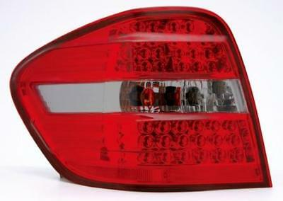 Back Rear Tail Lights Lamps Red-Black LED Pair For Mercedes W164 2006-11