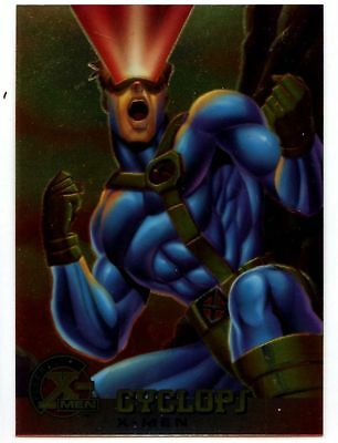 Cyclops #5 X-Men Chromium Fleer Ultra 1995 Trade Card (C1399)
