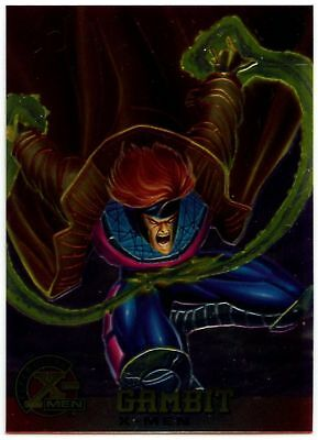 Gambit #6 X-Men Chromium Fleer Ultra 1995 Trade Card (C1399)