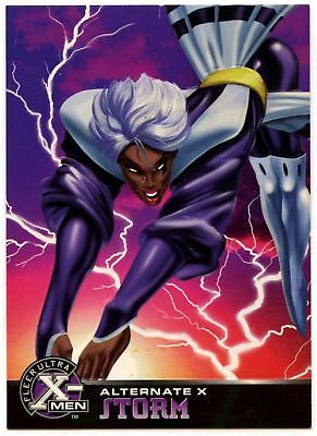 Storm #18 Of 20 X-Men Alternate X Fleer Ultra 1995 Chase Card (C1401)