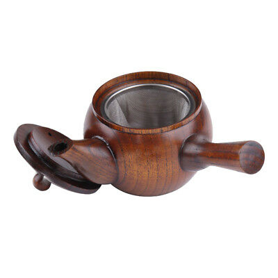 Japanese Style Mini Wood Wooden Tea Kettle Small Teapot Kung fu Tea Set