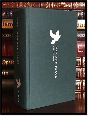 War and Peace by Leo Tolstoy New Cloth Bound Collectible Handsome Gift Hardcover