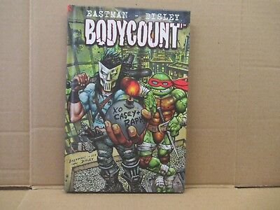 TMNT Bodycount - Hardcover  by Eastman & Bisley