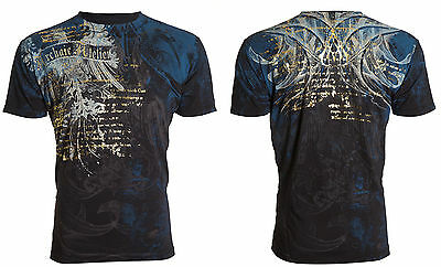 Archaic by Affliction Short Sleeve T-Shirt Mens CASCO Black S-3XL NWT