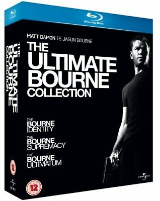 The Ultimate Bourne Collection [Blu-ray] [Region Free] -  CD AMVG The Fast Free