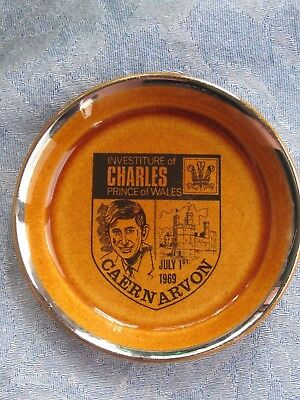Prince Charles 1969 Investiture Commemorative trinket dish Lord Nelson Pottery