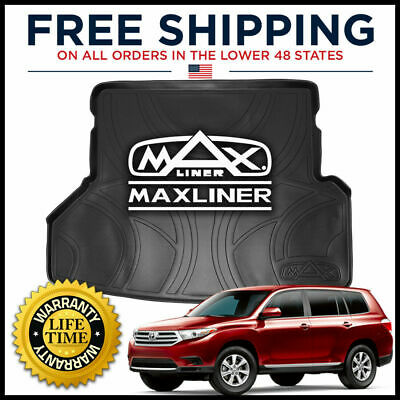 MAXTRAY 2008-2013 Toyota Highlander All-Weather Cargo/Trunk Liner Mat BLACK