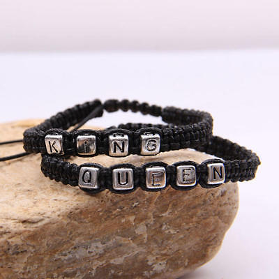 Bracelet pair braided rope rope alloy couple wristband