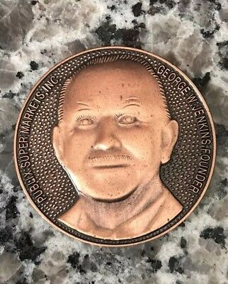 Publix Mr. George Collectible Coin