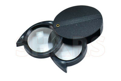 SHARS 5x / 10x Folding Loupe NEW