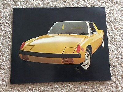 """Porsche 914 vintage advertisement /""""The Young People/'s Porsche/"""" ready for framing"""
