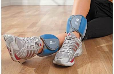 2 x Pro Fitness Opti 2.5LB 2.5 LB Ankle Leg Weights Fitness Strengthening Gym