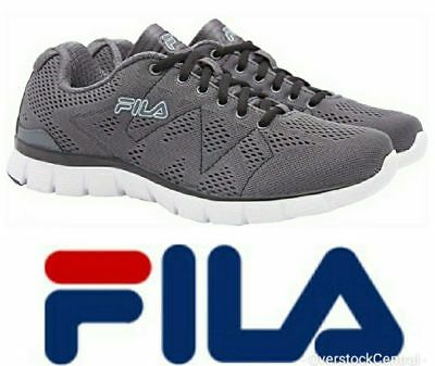 e9660add4292 NEW Fila Men Memory Refractive Memory Foam Insole Running Athletic GREY PK  SIZE