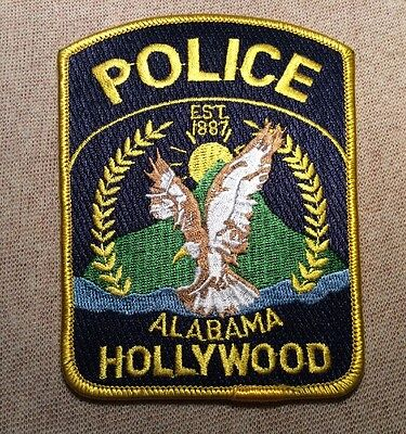 AL Hollywood Alabama Police Patch