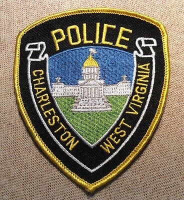 WV Charleston West Virginia Police Patch