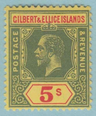 Gilbert & Ellice 25 Mint Lightly Hinged Og * No Faults Very Fine