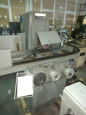 """Brown & Sharpe 6"""" x 18"""" Micromaster 2 Axis Hydraulic Surface Grinder"""