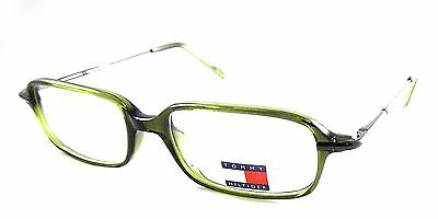 21e50f01a6a89 Authentic Tommy Hilfiger TH 302 073 Green Rx Eyeglasses Frames 51-17-135