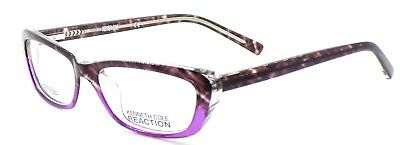 d4a8eb04b79 Kenneth Cole REACTION KC724 083 Women s Eyeglasses 51-14-135 Violet + CASE