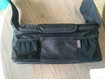 Britax Stroller Organizer with Cup Holders Black