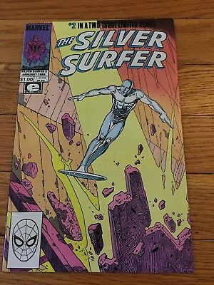 Silver Surfer 1 (1988)   MOEBIUS !!!   CLASSIC !   EXCELLENT COPY