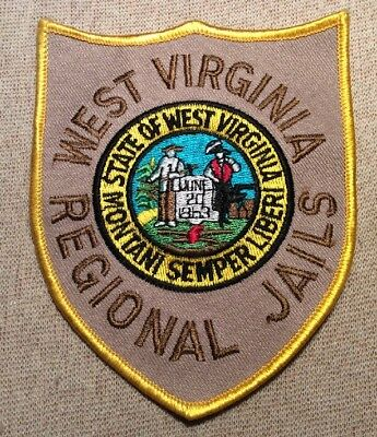 WV West Virginia Regional Jails Patch