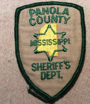 MS Pianola County Mississippi Sherif Patch