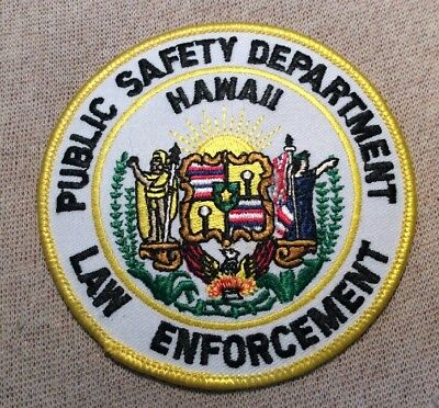 HI Hawaii Department of Public Safety Law Enforcement Patch