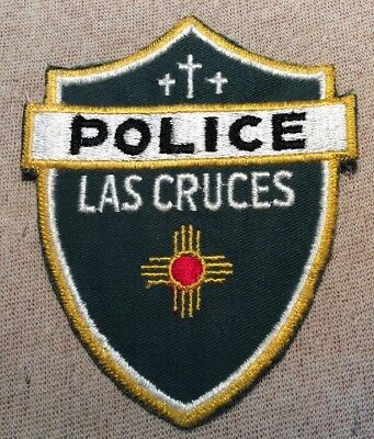 NM Vintage Las Cruces New Mexico Police Patch