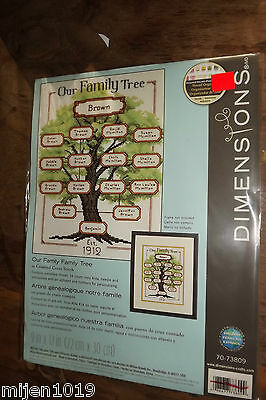 Dimensions Our Family Tree 70-73809Counted Cross Stitch