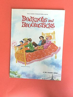 Walt Disney - Bedknobs And Broomsticks - Big Golden Book 1972 2Nd Printing